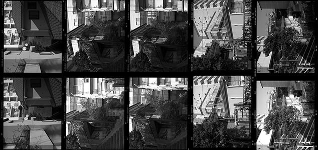 フィルムスキャナーによるベタ焼き作成
