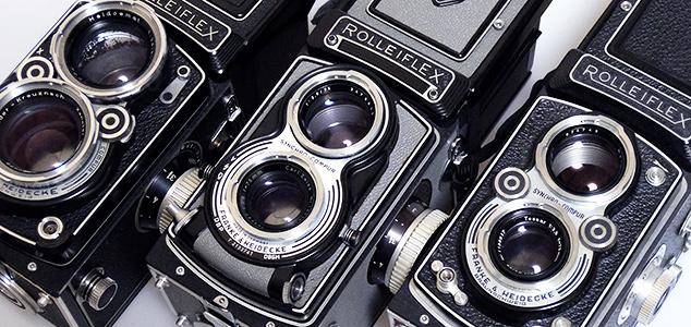 ヴィヴィアン・マイヤーのカメラを見る